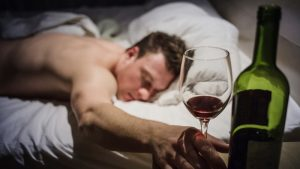 Alcohol effects on sleep