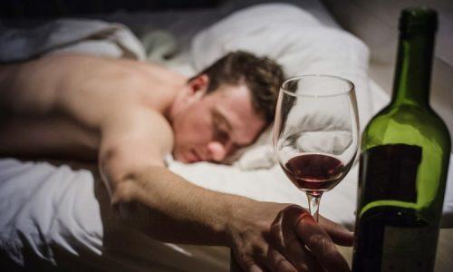 Alcohol effects on sleep